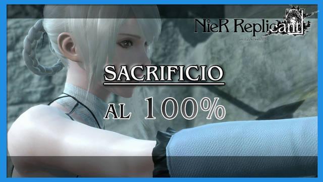 NieR Replicant: Sacrificio al 100%