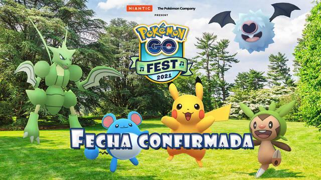 El Pokémon GO Fest 2021 se celebrará en julio; fechas y primeros detalles