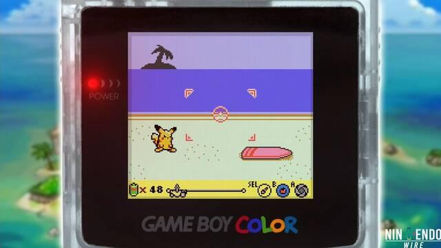 Pokémon Snap y cómo habría sido en Game Boy Color