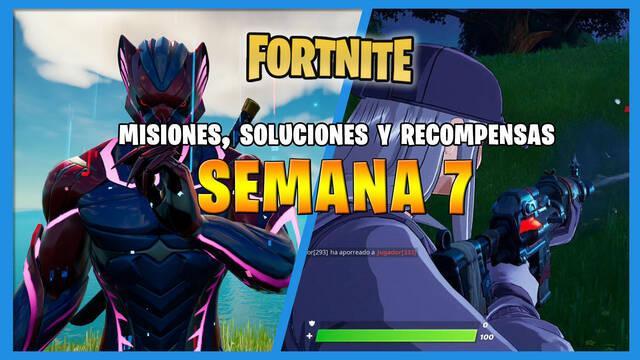 Fortnite T6: misiones y desafíos Semana 7: solución y recompensas