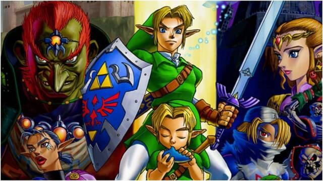 Zelda: Ocarina of Time llegará a Switch