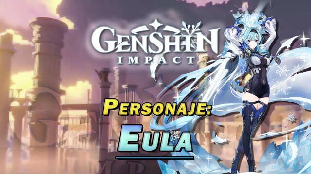 Eula en Genshin Impact: Cómo conseguirla y habilidades