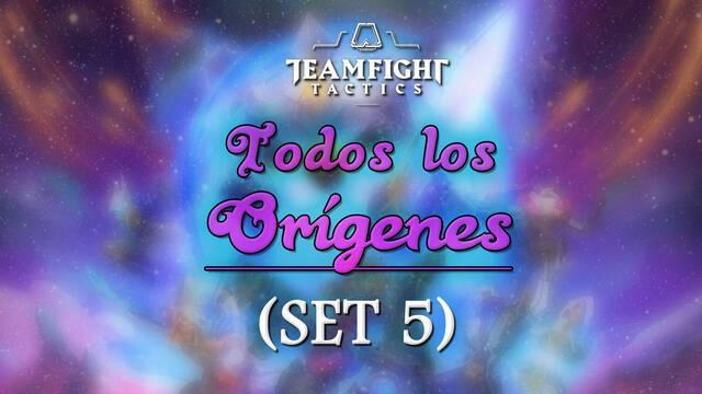Todos los Orígenes en Teamfight Tactics (TFT): Bonificaciones y combinaciones