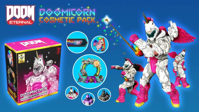 Doom Eternal micropagos cosméticos
