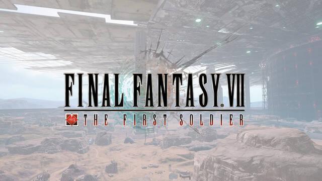 Final Fantasy 7 The First Soldier, el battle royale para móviles, se mostrará el 7 de mayo