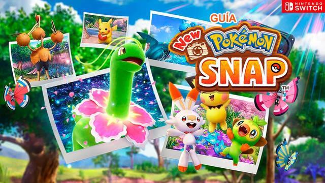 Guía New Pokémon Snap al 100%: trucos, secretos y consejos