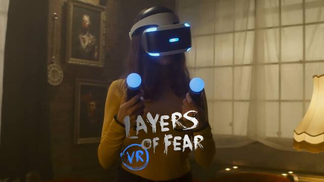 Tráiler de acción real de Layers of Fear VR para PS4.