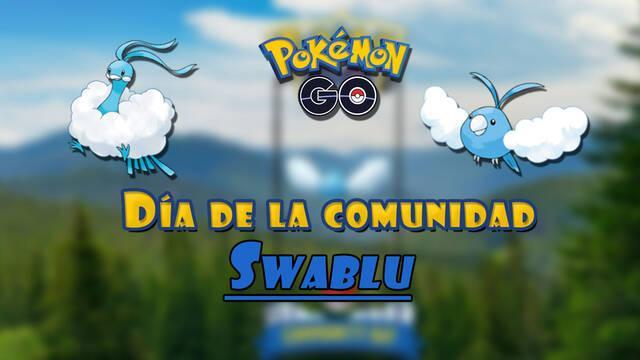 Pokémon GO: Día de la Comunidad de Swablu en mayo 2021; fecha y detalles