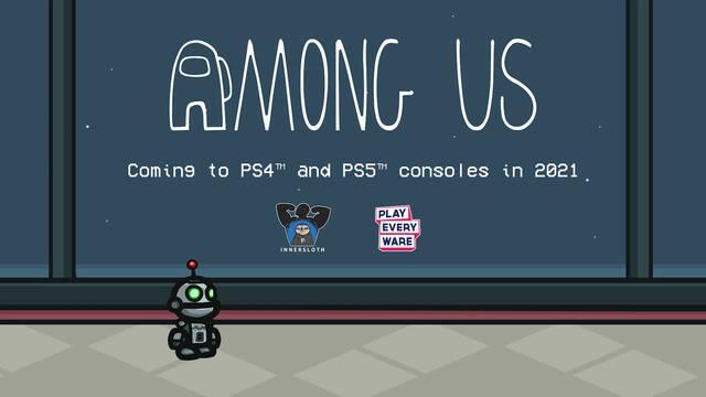 Among Us en PS4 y PS5 este año