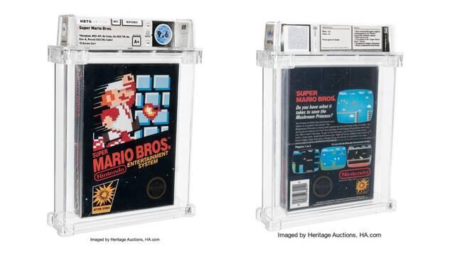 Venden un Super Mario Bros. por 660.000 dólares.