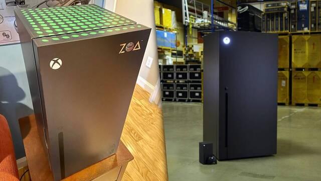 Xbox Series X tendrá mini neveras oficiales.