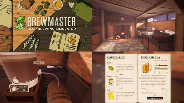 Brewmaster, un simulador de fabricación artesanal de cerveza, se lanzará en 2022.