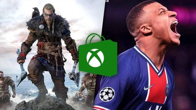 Ofertas de primavera en Xbox Store.