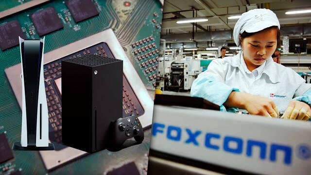 La escasez de componentes electrónicos continuará hasta mediados de 2022, según Foxconn