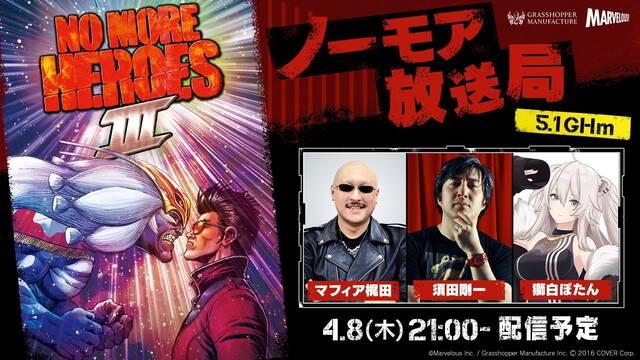 No More Heroes 3 evento gameplay retransmisión