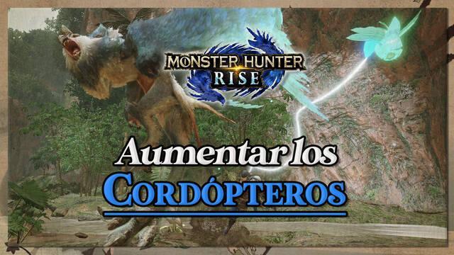 Monster Hunter Rise: Cómo aumentar el máximo de Cordópteros disponibles