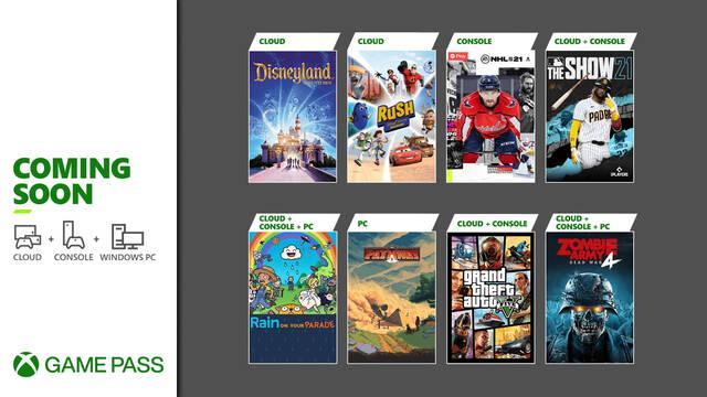 GTA V, Zombie Army 4 y más se suman este mes al catálogo de Xbox Game Pass