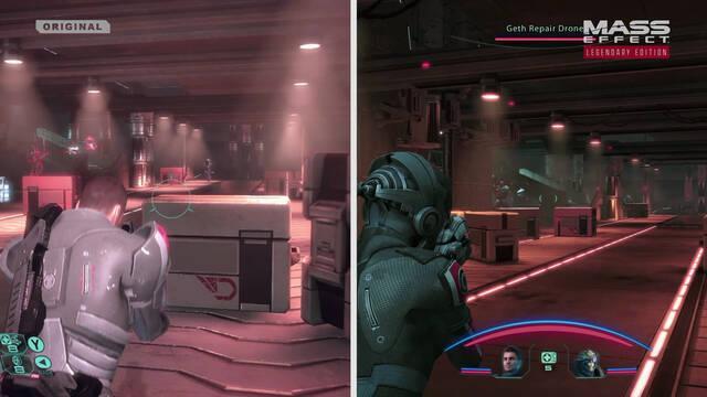 Mass Effect Legendary Edition comparativa
