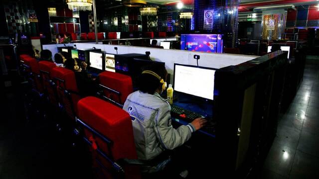 China cibercafés cierre