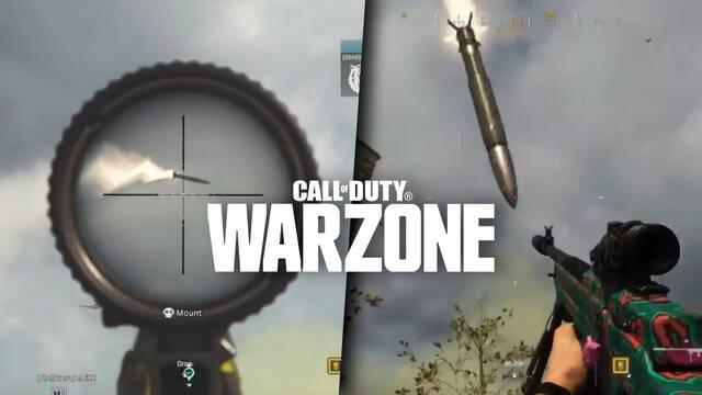 Misiles nucleares cayendo en Call of Duty: Warzone.