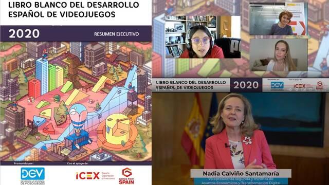Presentación Libro Blanco del Videojuego 2020
