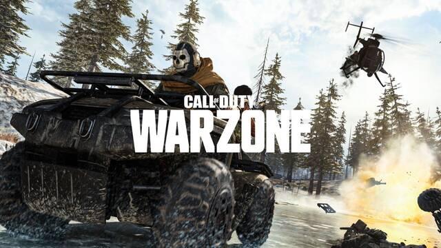 Call of Duty Warzone expulsa a 15.000 cuentas