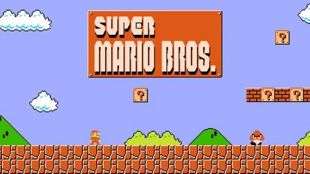 Super Mario Bros. speedrun 4:54