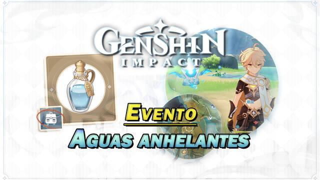 Genshin Impact: Consigue Protogemas gratis en el evento Aguas anhelantes