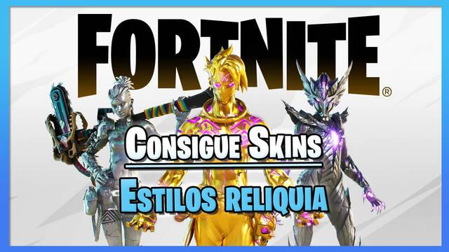Fortnite: Consigue las nuevas skins Estilos reliquia de la Temporada 6