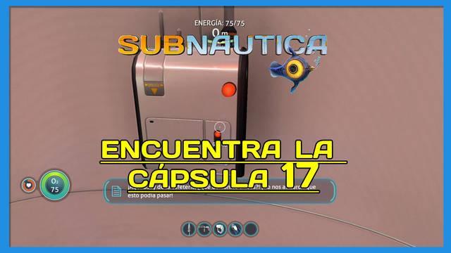 Encuentra la Cápsula 17 en Subnautica al 100%