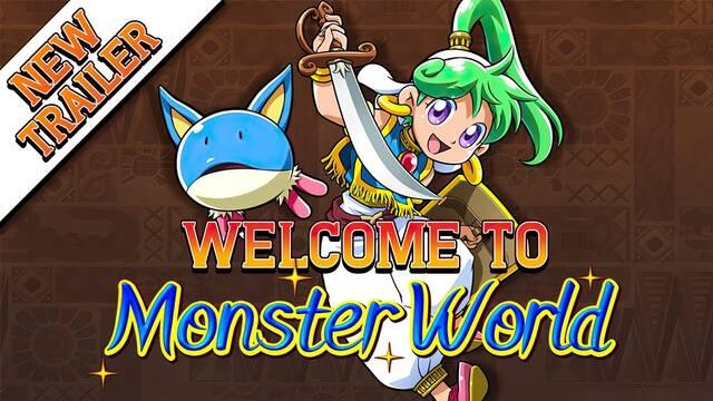 Wonder Boy: Asha in Monster World muestra su jugabilidad en un nuevo tráiler