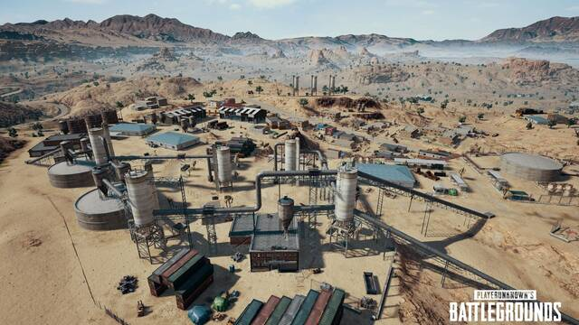 PlayerUnknown's Battlegrounds desvela los detalles de su mapa desértico