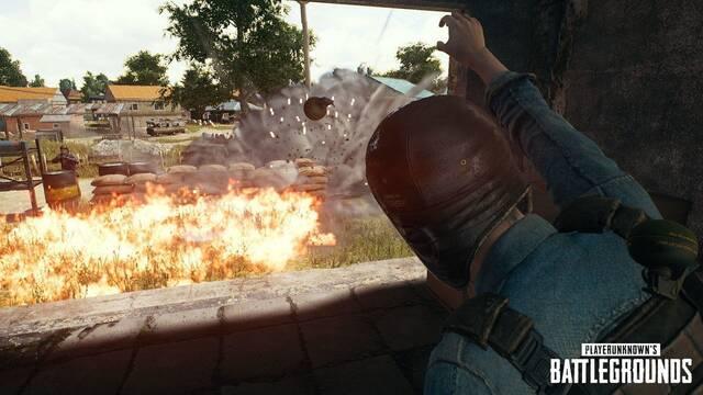 Las explosiones dominan PUBG con un modo limitado