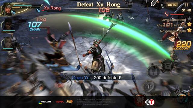 Nexon anuncia Project Dynasty Warriors para móviles