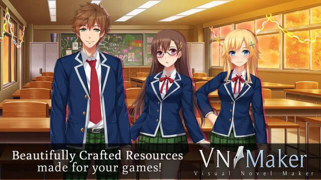 Degica Games anuncia Visual Novel Maker
