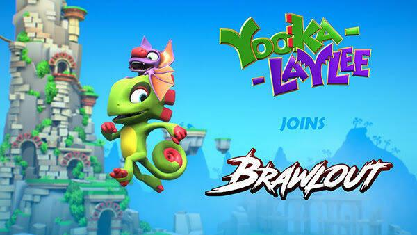 Yooka y Laylee ya están disponibles en Brawlout