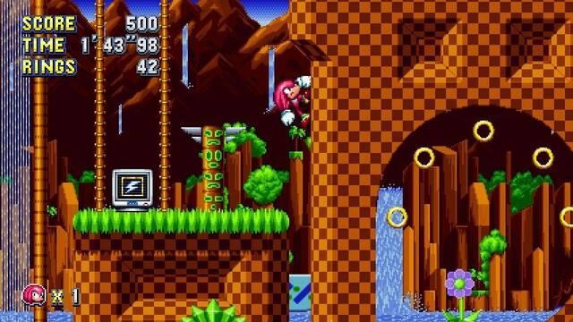 Sega nos presenta un nuevo tráiler de Sonic Mania
