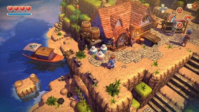 Primer vistazo a Oceanhorn: Monster of Uncharted Seas en Switch