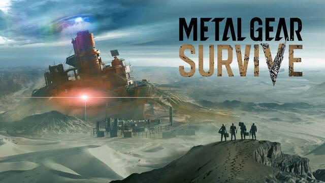 Metal Gear Survive muestra su jugabilidad por primera vez