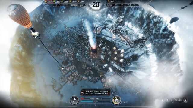Frostpunk muestra su jugabilidad en nuevas imágenes