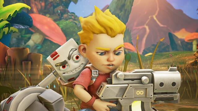 Rad Rodgers llegará a Xbox One y PlayStation 4 el 21 de febrero