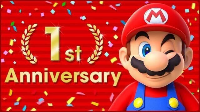 Super Mario Run celebrará su primer aniversario el 15 de diciembre