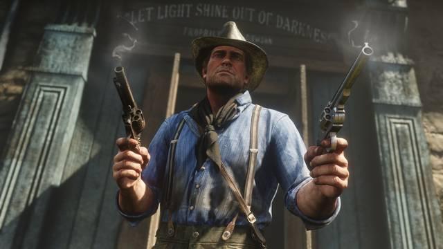 Red Dead Redemption 2 triunfa en Reino Unido