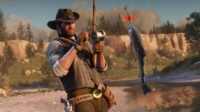 Peces Legendarios en Red Dead Redemption 2: Localización y cómo pescarlos