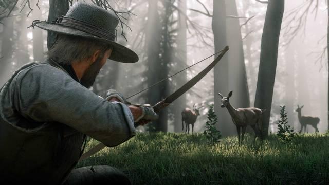 CAZA en Red Dead Redemption 2 - Trucos y consejos para dominarla