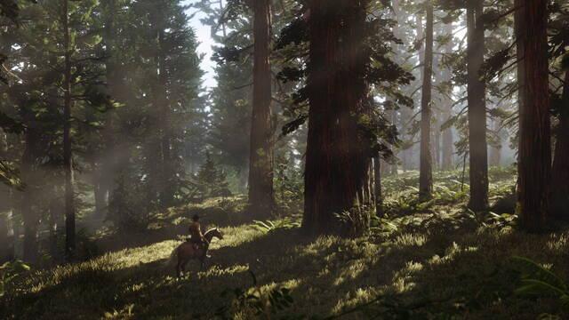 Red Dead Redemption 2: Trata de esquivar un árbol... y acaba en desastre