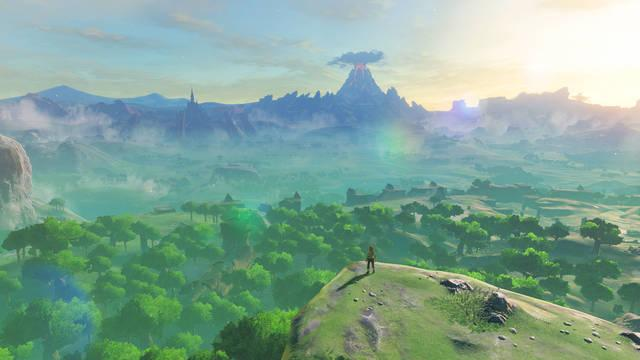 The Legend of Zelda Breath of the Wild aniversario