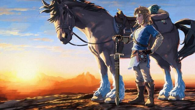 The Legend of Zelda: Breath of the Wild ya es el segundo más vendido de la saga