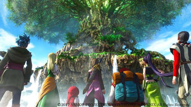 Se confirma que Dragon Quest XI en Switch emplea el Unreal Engine 4