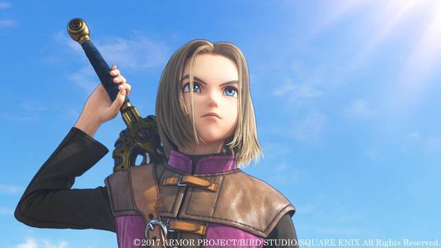 Dragon Quest XI y Octopath se lanzan en el año fiscal 2018 o más tarde